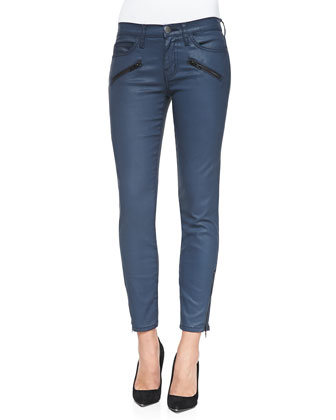 Soho Zip-Ankle Stiletto Jeans