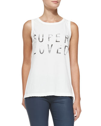 Super Loved Muscle Tee
