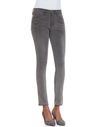 Le Skinny Zip-Detail Jeans, Thacher