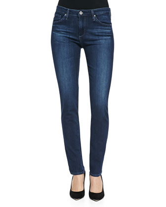 Prima Mid-Rise Skinny Jeans, Crater