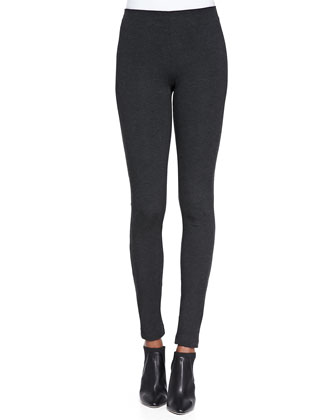 Piall Stretch-Knit Pull-On Leggings