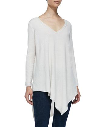 Tambrelb Asymmetric Knit Sweater
