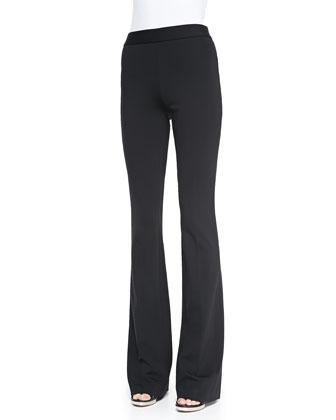 Baxton Flare-Leg Jersey Pants