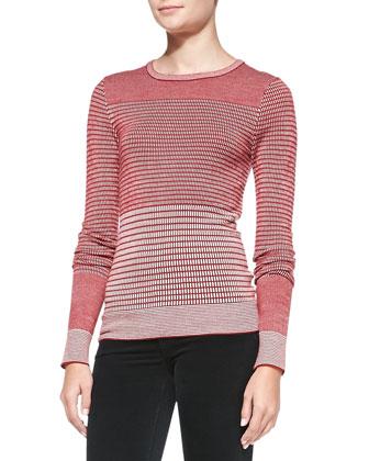 The Jacquard Knit Sweater