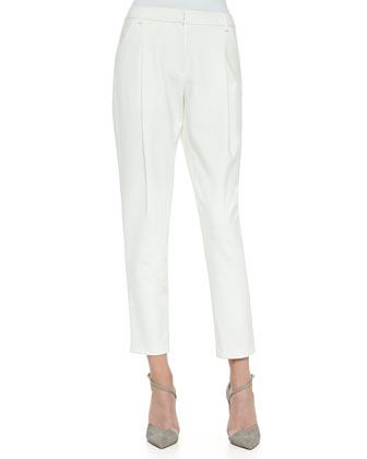 High-Waist Tapered Pants