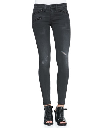 RBW 23 Distressed Skinny Jeans, Blackthorne