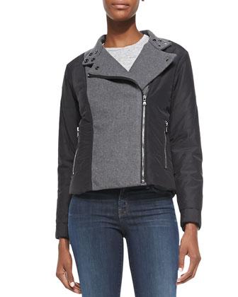 Sean Felt/Tech-Fabric Jacket