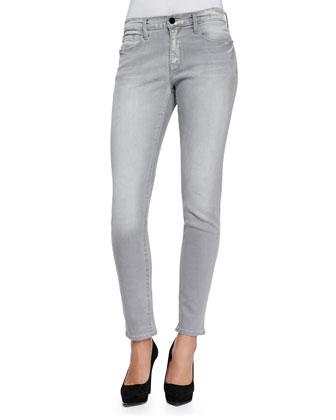 Le Garcon Cropped Slim Jeans, Kensington