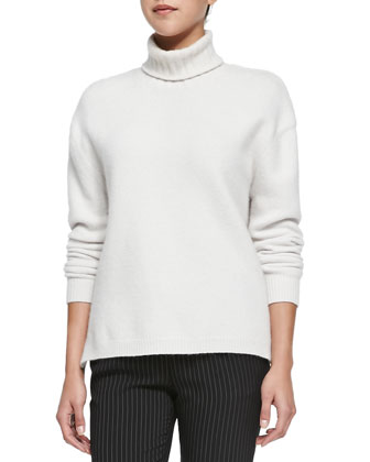 Nana Turtleneck Sweater W/ Side Zips