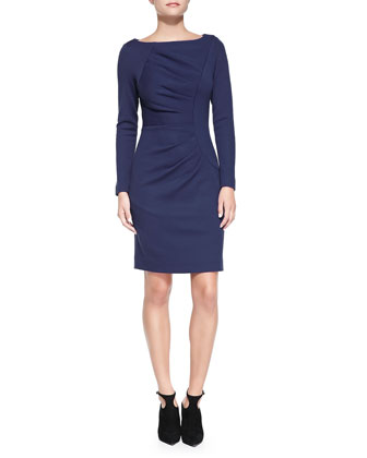 Andrea Long-Sleeve Dress