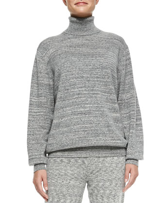 Cashmere Pristelle Space-Dye Sweater