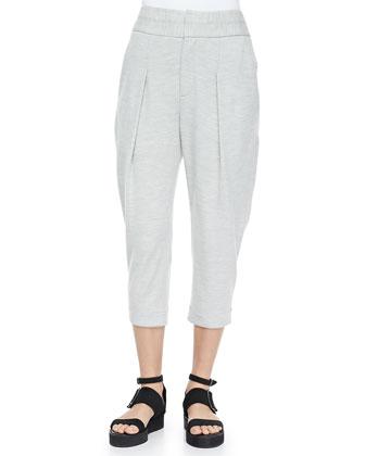 Sonar Wool Cropped Pants