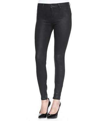 Zip-Cuff Super Skinny Pants