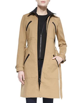 Scuba Dickey Trench Coat