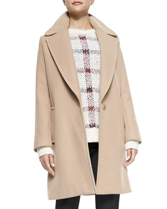 Razan Long Felt Coat