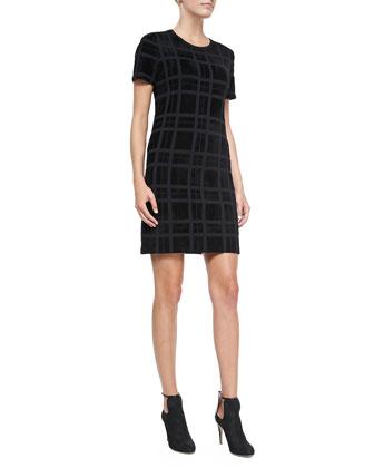 Darmelle PL. Velvet Devore Dress