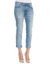 The Fling Relaxed Destroyed Jeans, Super Loved