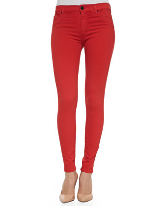 Nico Stretch Skinny Jeans, Infrared