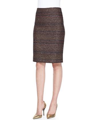 Tumbler Woven Pencil Skirt