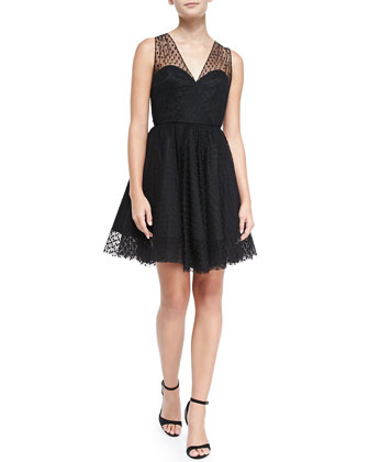 Grace Gathered Tulle Dress