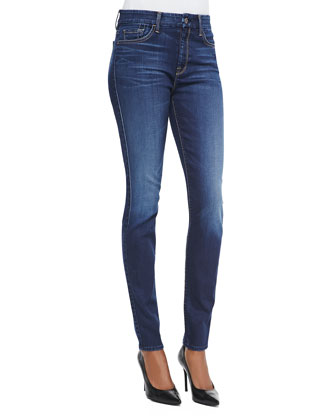 Slim Illusion Skinny Jeans, Geneva Blue