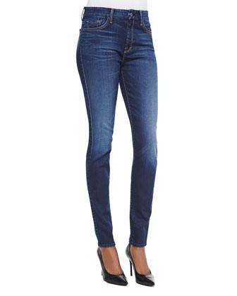 Slim Illusion Skinny Jeans, Geneva Blue