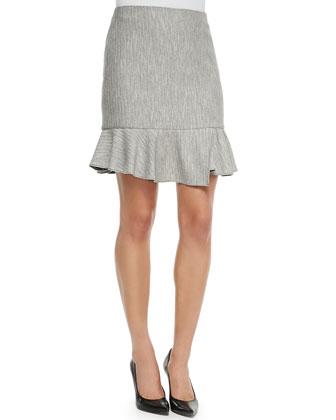 Daria Knit Ruffle Skirt