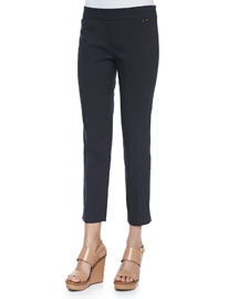 Callie Skinny Ankle Pants, Navy