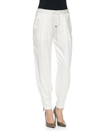 New Zipper-Cuff Track Pants