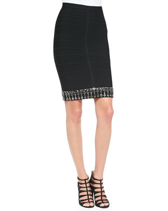 Kenza Jewel Beaded Skirt