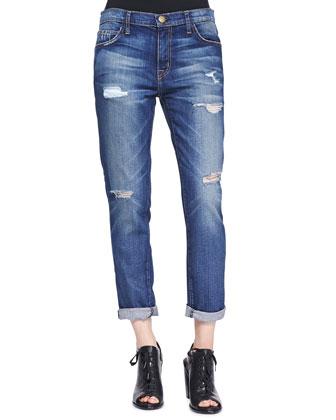 The Fling Bluebennett Destroyed Jeans