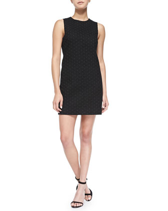 Gwideen Sleeveless Eyelet Dress