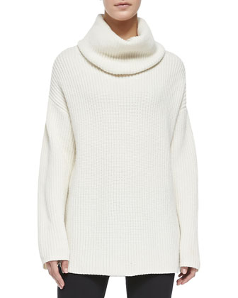 Naven Loryelle Ribbed Turtleneck Sweater