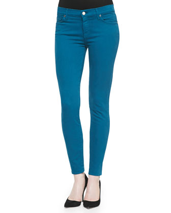 Slim Illusion PDF Brights Skinny Jeans, Nautical Teal