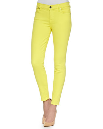 Slim Illusion PDF Brights Skinny Jeans, Blazing Yellow
