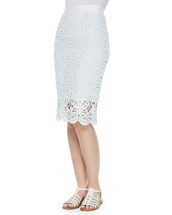 Scarlett Crochet Pencil Skirt