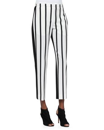 Malick Striped Tapered Pants