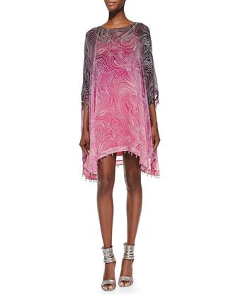 New Nessa Bead-Hem Dress