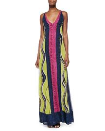 McKinley Printed Chiffon Maxi Dress