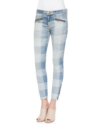 The Soho Stiletto Jeans, Light Blue