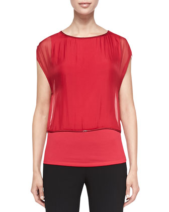 Alexis Layered Tank Blouse