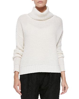 Diona Chunky Knit Turtleneck Sweater