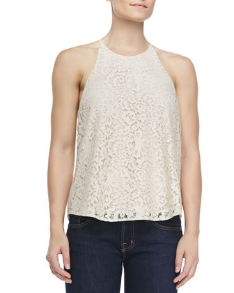 Cualli B Lace Tank Top