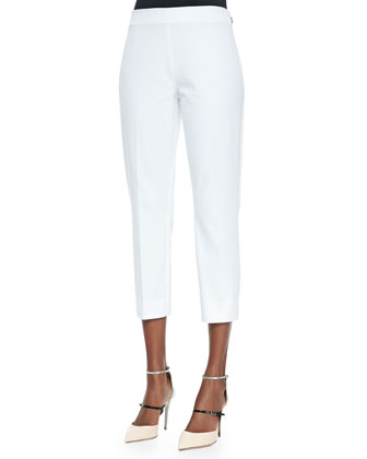 Juiliette Cropped Pants, White