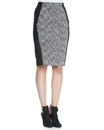 Willow Tweed Pencil Skirt