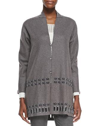 Leann Wool-Blend Coat