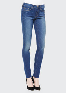 Forever Karlie Skinny Mid-Rise Jeans, Columbia Road