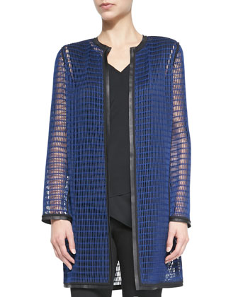 Reversible Mesh Soho Coat