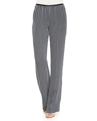 Pajeema Striped Pull-On Pants