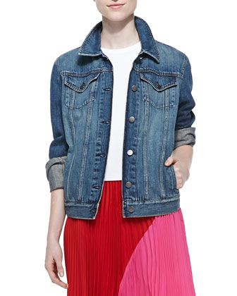 John Faded Denim Jacket